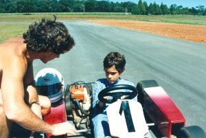 Ayrton e Bruno Senna