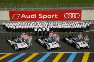 Teste Audi Le Mans 2014