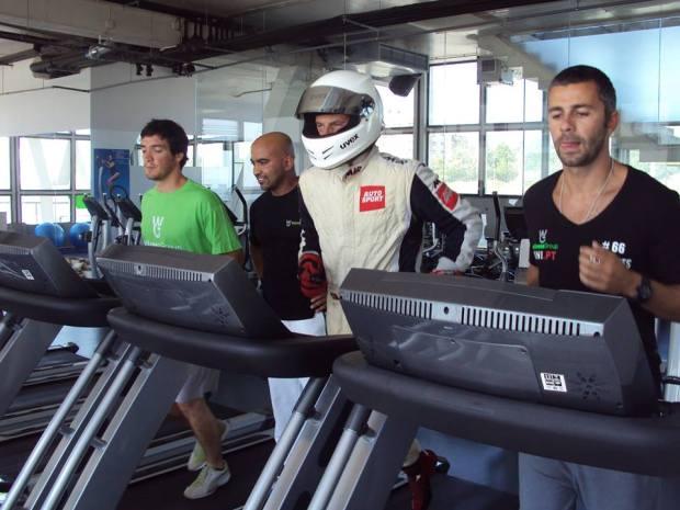"""Filipe (ao meio) ,Alvaro Parente e Gonçalo Gomes: """"Um dia de preparação para as corridas"""" @foto escolha pessoal"""