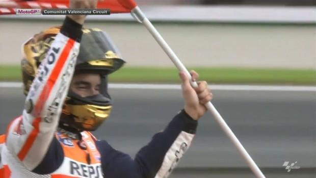 o Campeão Marc Marquez