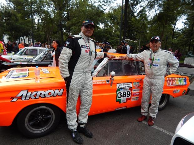 Xavier Lamadrid (dta) e Ricardo Navarro